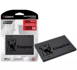 Hd SSD 120 Gb *Kingston* SA400S37 (Somente a peça)