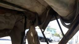 Capota de Jeep Willys conversível completa com portas e janelas marca Trevo!!!