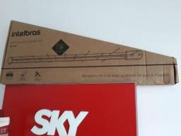 Antena de tv digital instalada