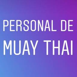 Procuro personal de muay thai