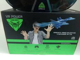 Óculos De Realidade Virtual Aumentada - Vr Power 360