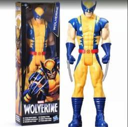 Boneco Wolverine Logan X men 30cm ORIGINAL