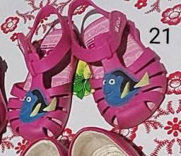 Sandalinha rosa 21