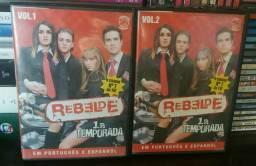Dvd Novela Rebelde Primeira Temporada RBD Frete Grátis