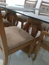 Mesa 6 lugares madeira