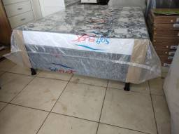 Cama Box Casal ortopédica ( confortável) com Selo do Inmetro