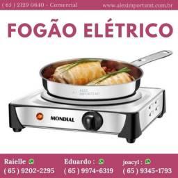 Fogão Cooktop Elétrico 1 Boca 127v Mondial Fogao Portatil Eletronico