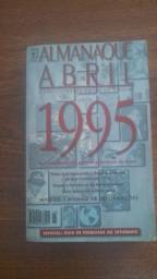 Raridade! 50 reais. Almanaque Abril 1995