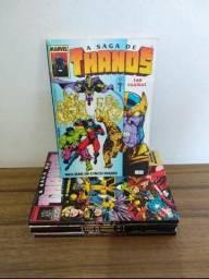 HQs a saga de Thanos em 5 edições. Em perfeito estado