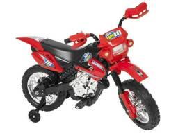 Moto Elétrica Infantil Cross