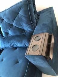 Esteira porta copo sofá conjunto 2 peças