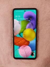 Samsung Galaxy A 51 (Preto) (Ler a Descrição)