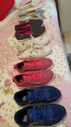 Sapatos diversos a ótimos preços!