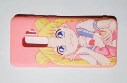 Case Rosa Pink S9+ Sailor Moon