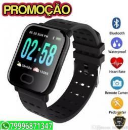 Relogio Smart Bracelete A6 Batimentos\Pressão e whatsapp Promocao
