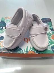 Sapato bebê número 17- perfeito para batizado R$ 25