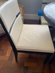 Cadeira couro Way