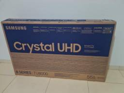 VENDO SMART TV ? SAMSUNG CRYSTAL 4K 55 POLEGADAS NOVA