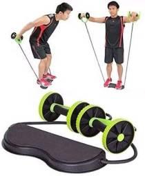 Aparelho revoflex exercício de musculação