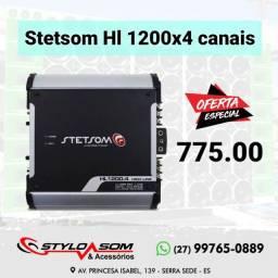 Módulo digital Stetsom 1200x4 canais novo