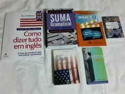 """Kit de livros Idioma e Gramatica """"Usados"""" - bem conservados - *"""