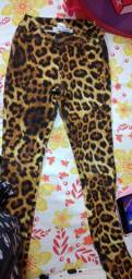 Calça Animal print Miss e Miss