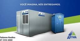 Locação de Containers é Banheiros químicos