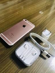 iPhone 6s Rosé 128 GB Funcionando perfeitamente Tudo