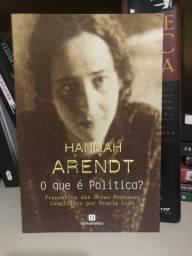 Livro Hannah Arendt O Que É Política?