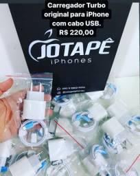 Carregador turbo iPhone original