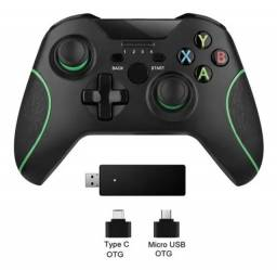 Controle Xbox One 2.4g Sem Fio Win 7/8/10 /Android / Ps3
