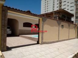 Casa à venda com 4 dormitórios em Flórida, Praia grande cod:1148