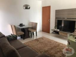 Apartamento para venda em condomínio fechado mobiliado