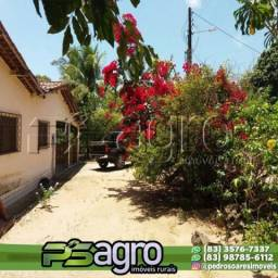 Sítio com 5 dormitórios à venda, 28000 m² por R$ 330.000,00 - Zona Rural - Conde/PB