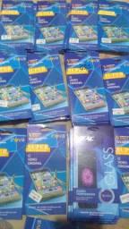 Lote de películas de vidro com 50 unidades R$150