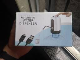 Bomba de água para garrafão recarregável