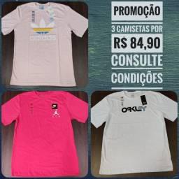 Camisetas Unissex - Mega Promoção - fazemos Entrega