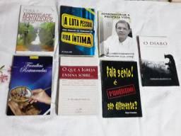 """Kit Livros Canção Nova-"""" Usados"""" *"""