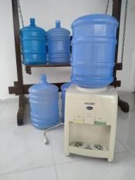 Resfriador gelágua com 5 garrafões