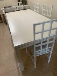 Mesa nova de jantar 2 metros