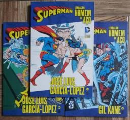 Superman Lendas Do Homem De Aço - José Luis Garcia Lopez + Gil Kane