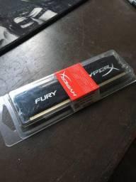 Memória HyperX Fury 4G DDR3 1333MHz