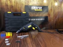 Furadeira de Impacto 10mm 550w Com Acessórios