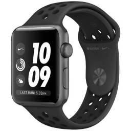 Apple Watch Nike+ 42mm - Preto ? 1 Ano de Garantia - Somos Loja Física