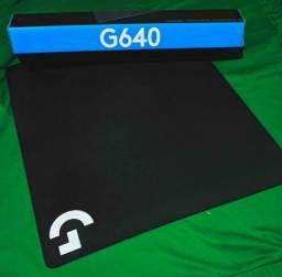 Mousepad Gamer Logitech G640, Speed, Grande (400x460mm)