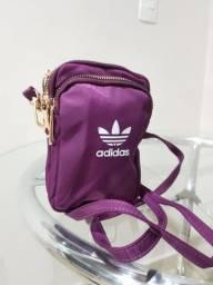 Bolsa alça roxa Adidas