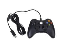 Controle Xbox 360 Com Fio Joystick Pc