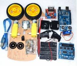 Kit Chassis Carro 2wd Arduino Completo