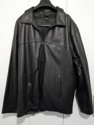 Jaqueta de couro legítimo, masculina Brooksfield
