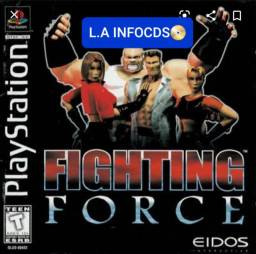 Jogo* Ps1* FIGHTING Force*
